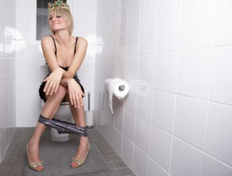 toilet mishaps woman falls off seat What Reddit Taught Us In 2015