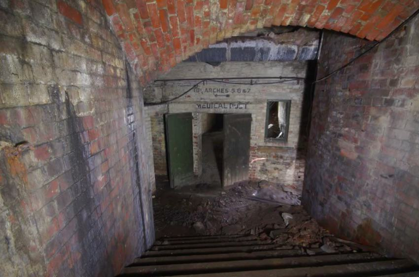 Chilling Footage Reveals Eerie Hidden Labyrinth Beneath UK City Streets tunnels5
