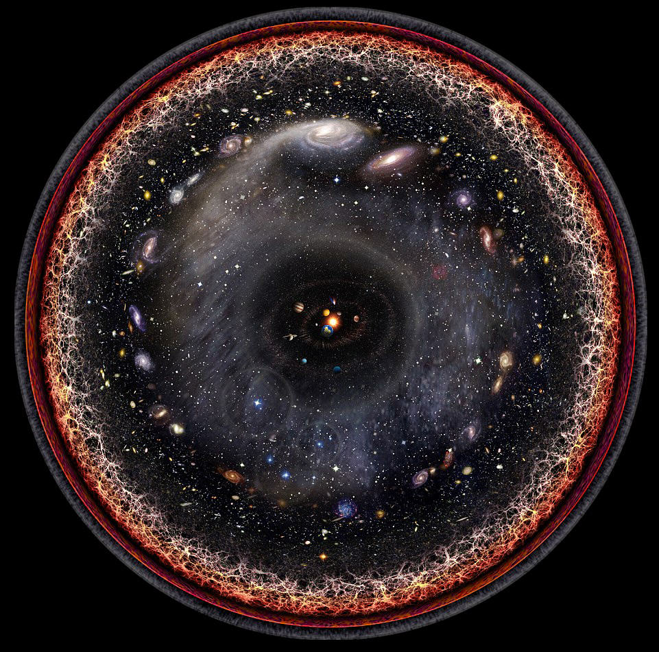 2FD1702300000578 3385768 An artist used logarithmic maps and satellite images to created  m 30 1452018128382 1 If The Whole Universe Could Be Pictured It Would Apparently Look Like This