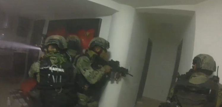 Someone Wore A GoPro During The Raid Of El Chapos Hideout 33