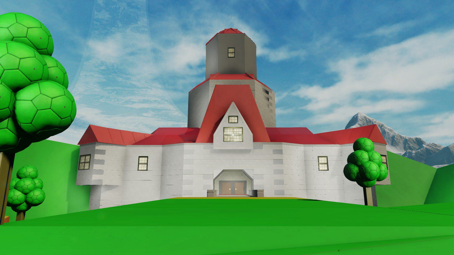 See Super Mario 64s Peach Castle Faithfully Recreated in Halo 5 7uwz5Uk