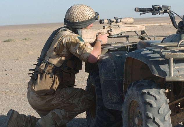 Alamy Elite SAS Sniper Took Out Three ISIS Bombers With This Incredible Shot