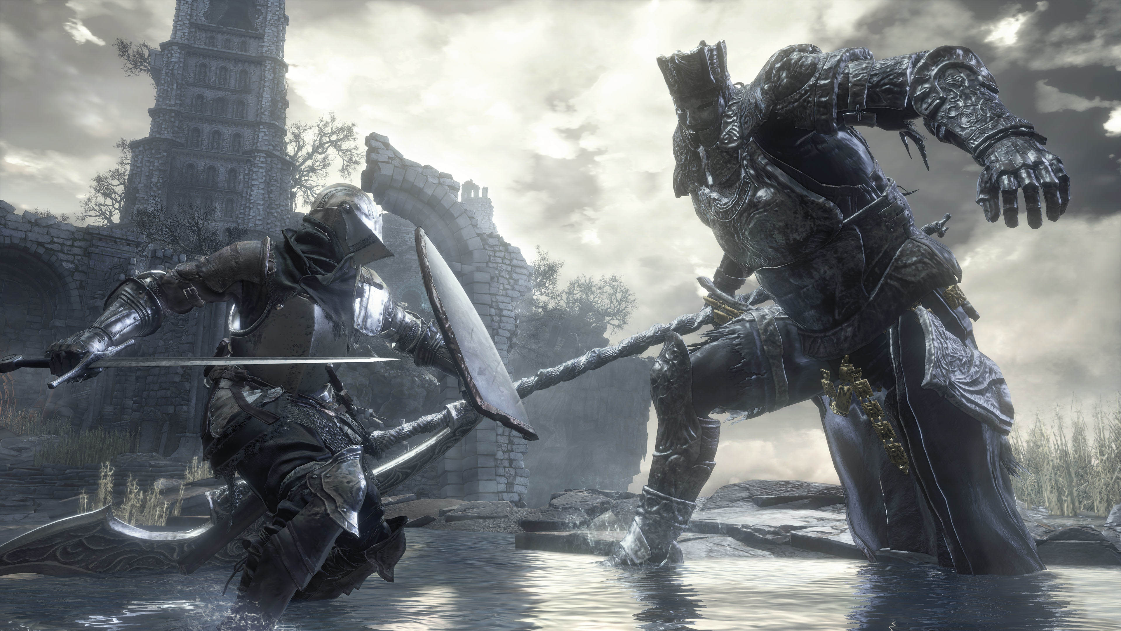 New Dark Souls 3 Screenshots Reveal All Kinds Of New Info Iudex Gundyr battles player to test their worth noscale 1