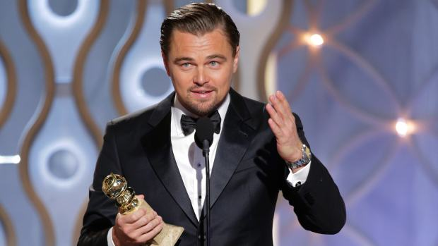 Leo 1 Leonardo DiCaprio Wins Best Actor Award At Golden Globes For The Revenant