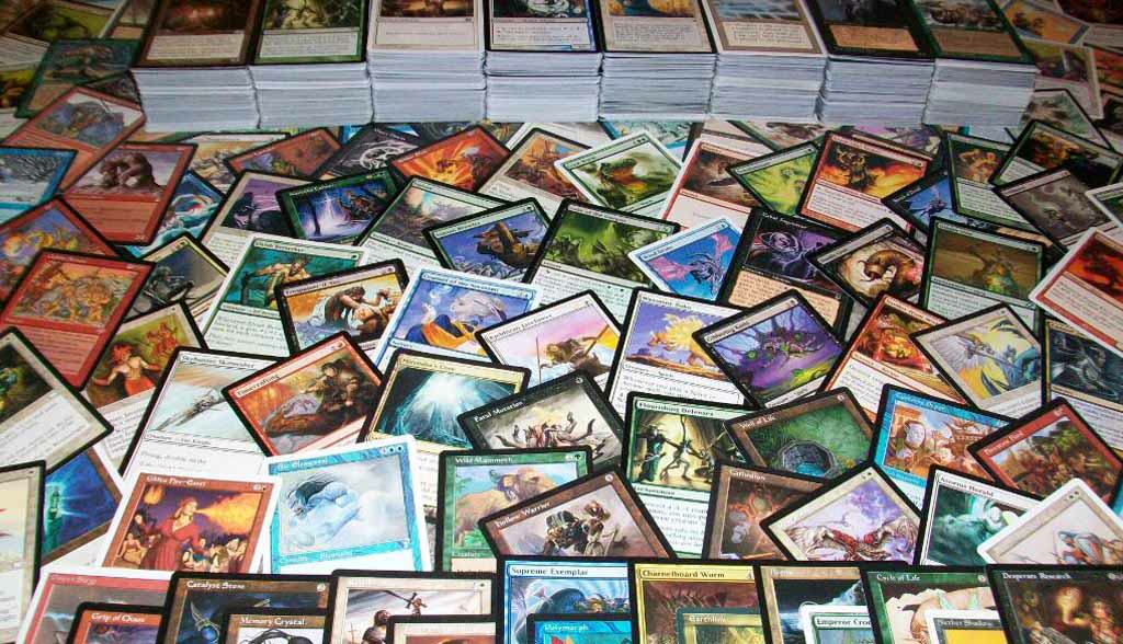 Magic the gathering MTG Cards lot bulk Burglars Make Off With £52,000 Worth Of Magic The Gathering Cards