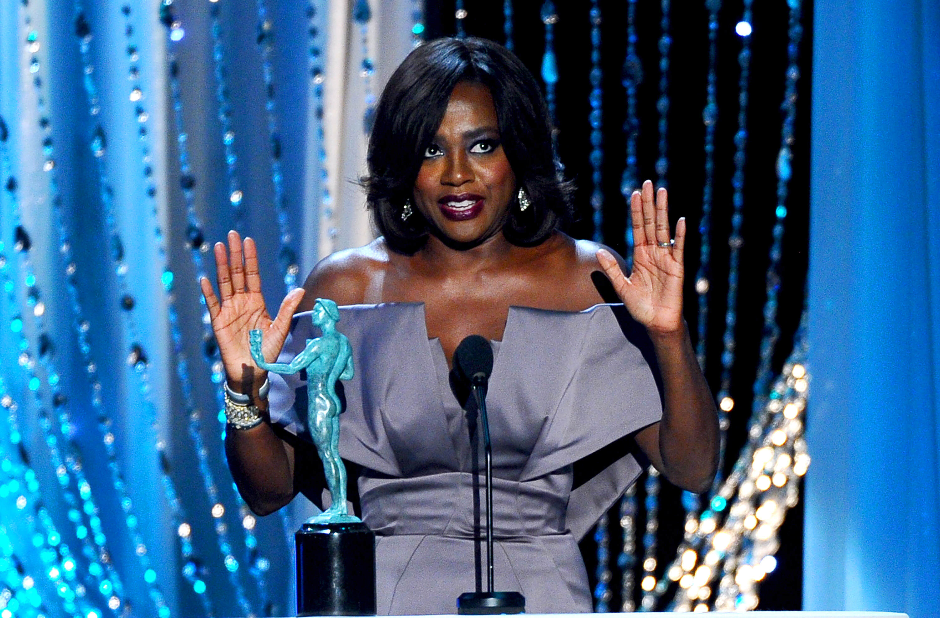 PA 25386744 1 Oscars Put To Shame By Number Of Non White Winners At SAG Awards