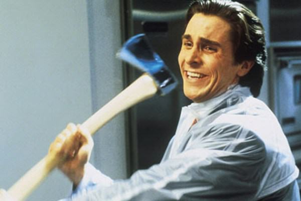 Patrick Bateman Axe 5 Cool Movie Anti Heroes That You Actually Wouldnt Want To Meet In Real Life
