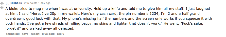 British People Tell Hilarious Stories About Failed Muggings On Reddit Screen Shot 2016 01 06 at 22.29.09