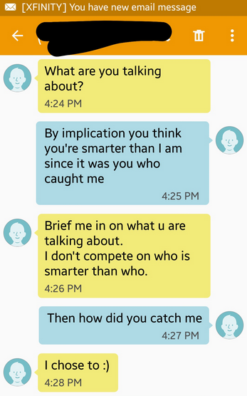 Guy Thinks Hes Texting Girl, Gets Hilariously Trolled By Hannibal Lecter Screen Shot 2016 01 20 at 15.33.27
