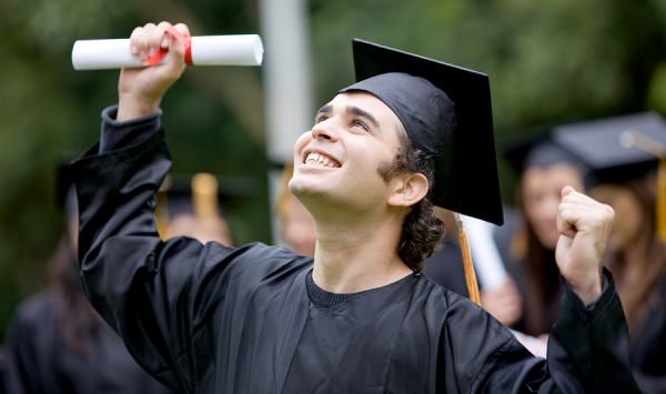 New Study Reveals Highest Paid Jobs That Require No University Degree bigstock Happy Graduation Student 4098840