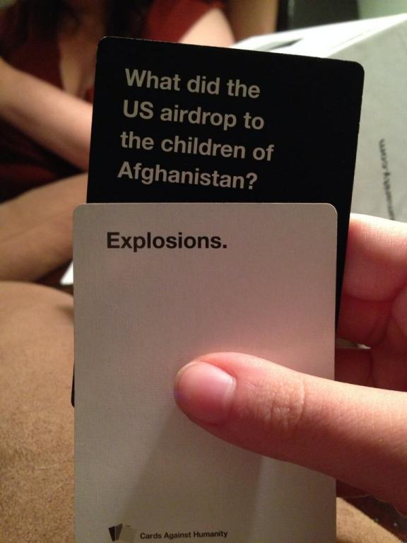 card 11 Are These The Most Offensive Cards Against Humanity Answers Possible?