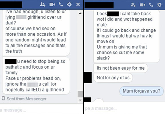 cheating texts 5 new Devastated Guy Finds Out Girlfriend Was Cheating On Him With His Own Dad