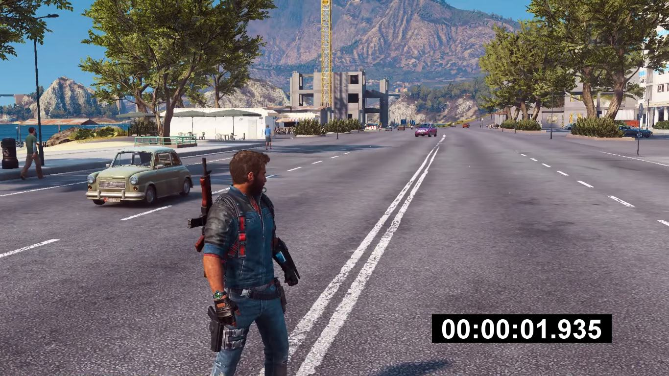 cuase Guy Stands Perfectly Still In Just Cause 3, Society Collapses Around Him