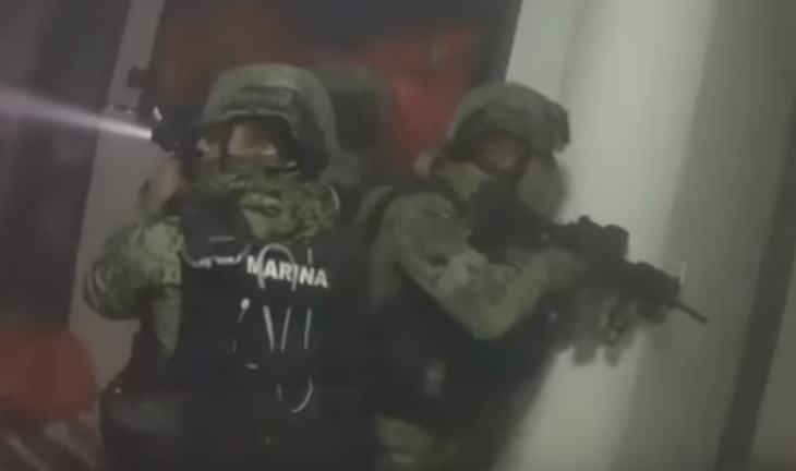 Someone Wore A GoPro During The Raid Of El Chapos Hideout el chapo 2
