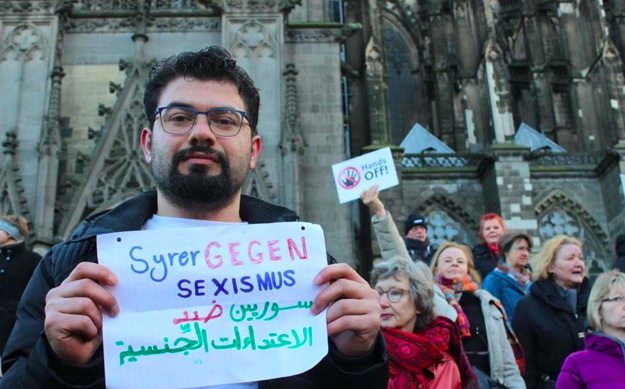enhanced 16653 1452796342 10 Thousands Of Syrian Refugees Protest Against Sexism After Cologne Attacks