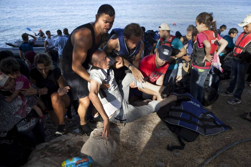 Greek Islanders Set To Be Nominated For Nobel Peace Prize f obamasyria a 20150910 870x580