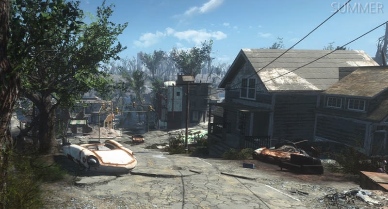 falloutfacebook New Seasons Mod Makes Fallout 4 Look Like The Last Of Us