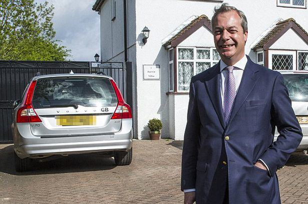 Someone Recently Tried To Assassinate Nigel Farage, Apparently farage crash 2