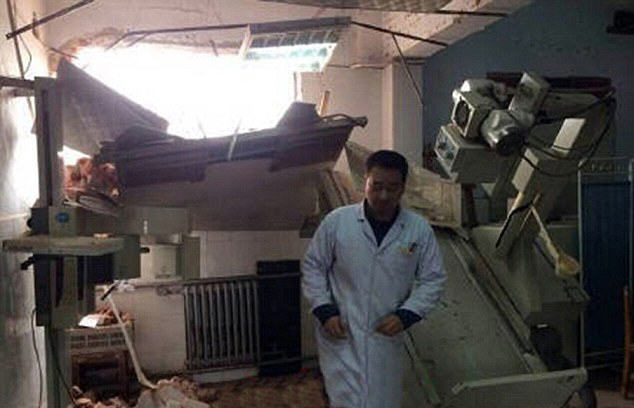 hospital 4 Chinese Government Demolish Hospital With Patients And Doctors Inside