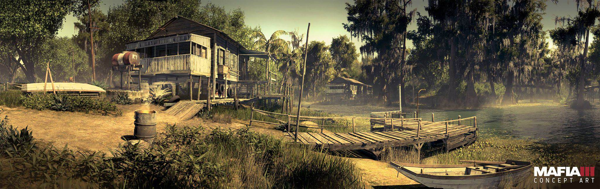 mafia3 bayou concept art Check Out Every Awesome Piece Of Mafia 3 Concept Art Released