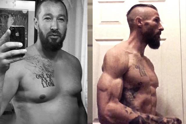 Dad Drops 70lbs To Become A Shredded MMA Fighter After Divorce