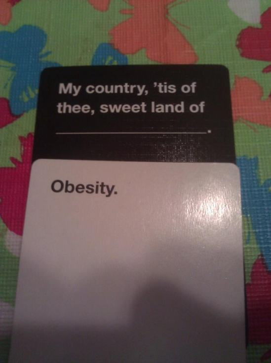murica photo u1 Are These The Most Offensive Cards Against Humanity Answers Possible?