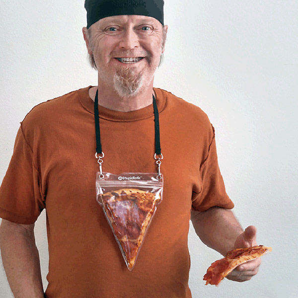 pizza3 Brilliant New Necklace Makes Pizza Accessible At All Times