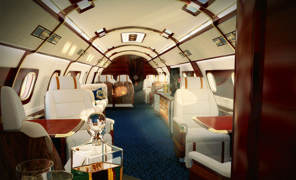 This Plane/Boat Hybrid Luxury Private Jet Is Absolutely Ridiculous plane 4