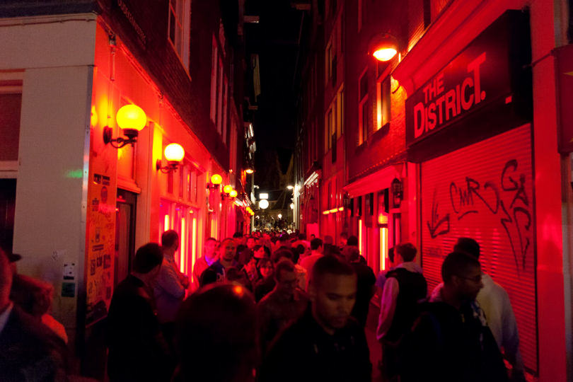 Englands First Red Light District Is Open For Business redlightdistrict