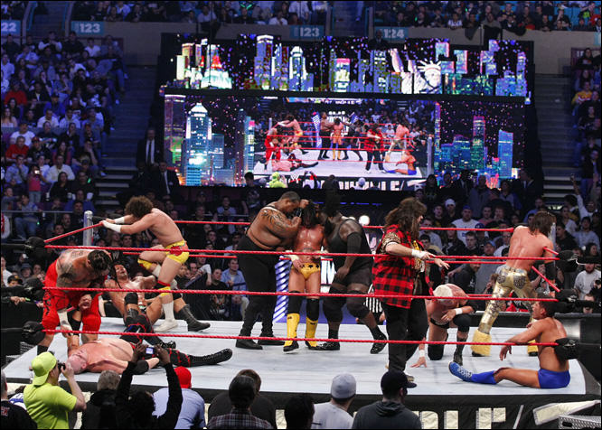 The WWE Royal Rumble Is The Most Wonderful Time Of The Year image