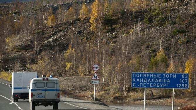 russian road 2 Russian Official Accused Of Literal Highway Robbery