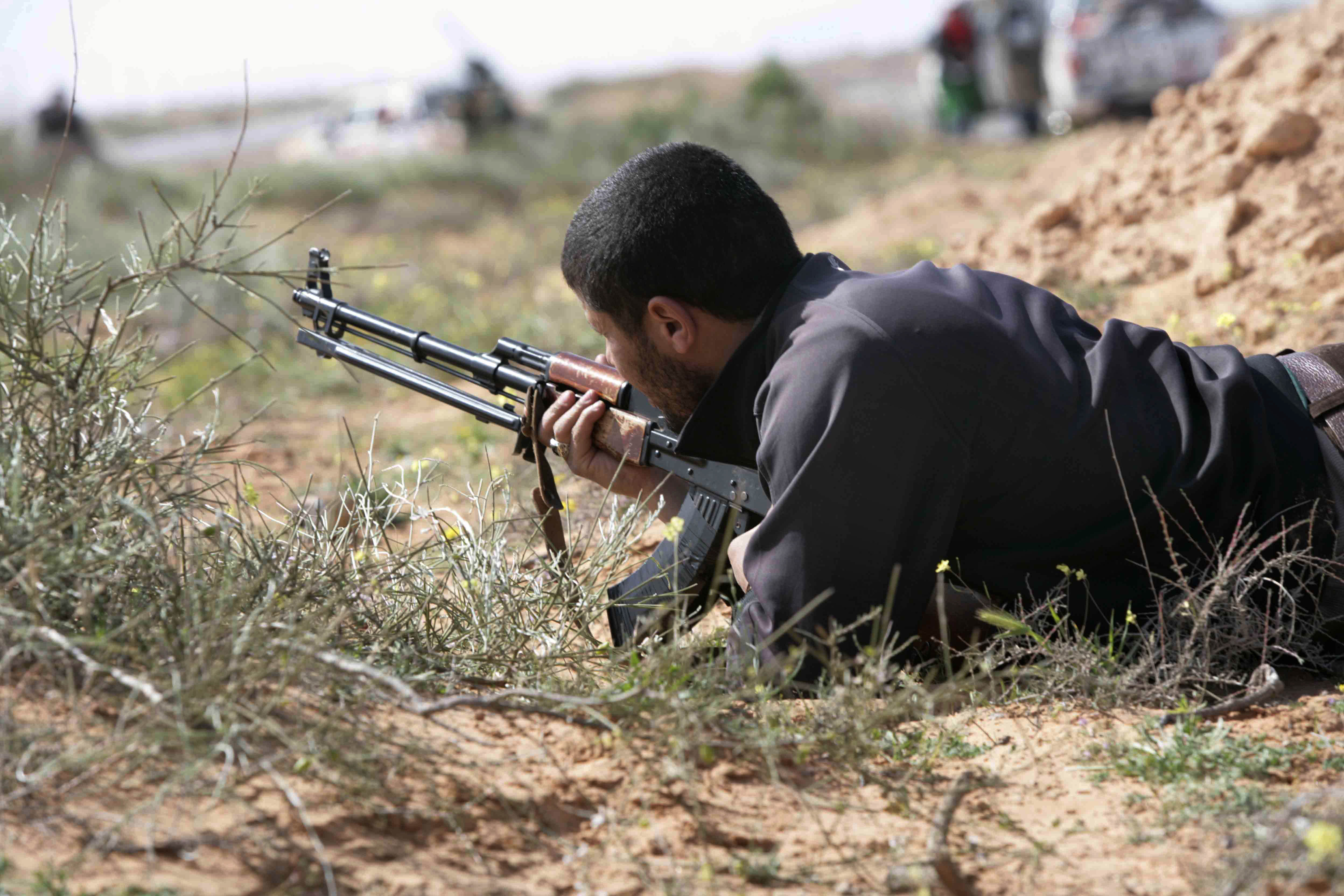 sniper3 1 Is There A Secret Sniper On A One Man Mission Against ISIL?
