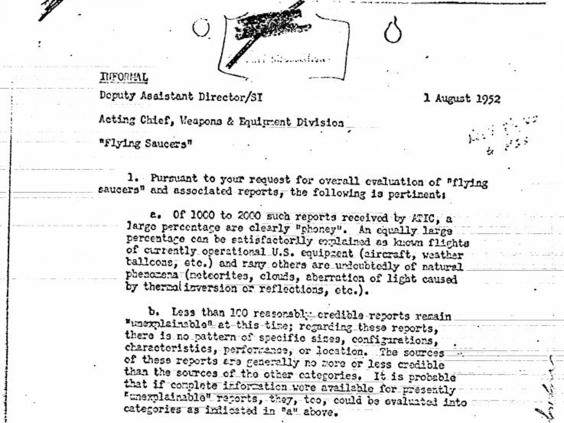CIA Releases Declassified Photos Of UFOs Hovering Over Britain ufo sightings2