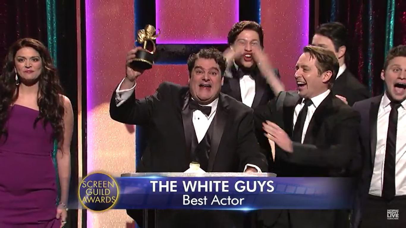 Saturday Night Live Brilliantly Mocked This Years So White Oscars white oscars snl 1