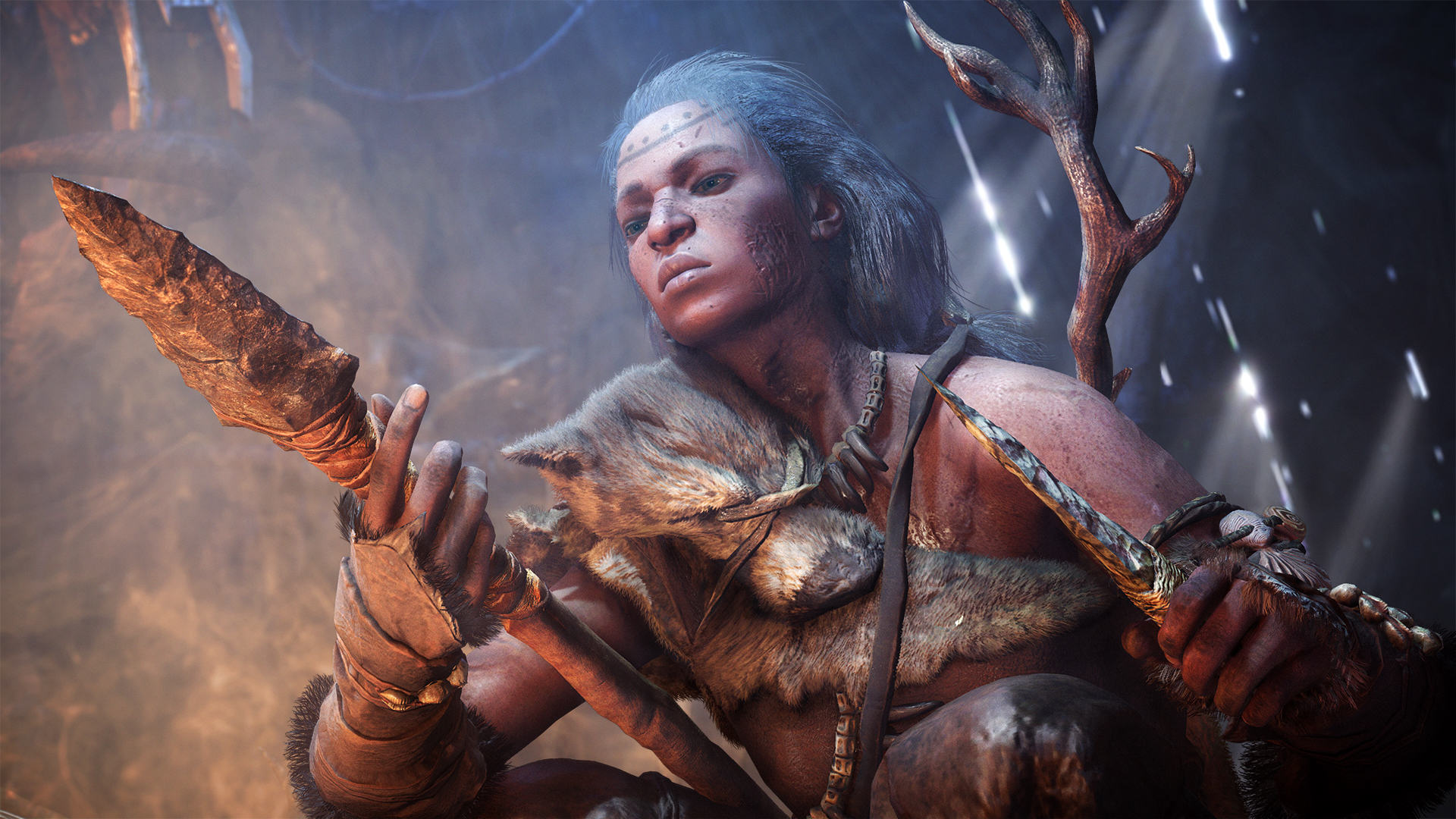 Far Cry Primal Is Shameless Pre Historic Fun, If A Little Shallow FCP 01  Hunter  Screenshots PREVIEW PR 160126 6pm CET 1453716676