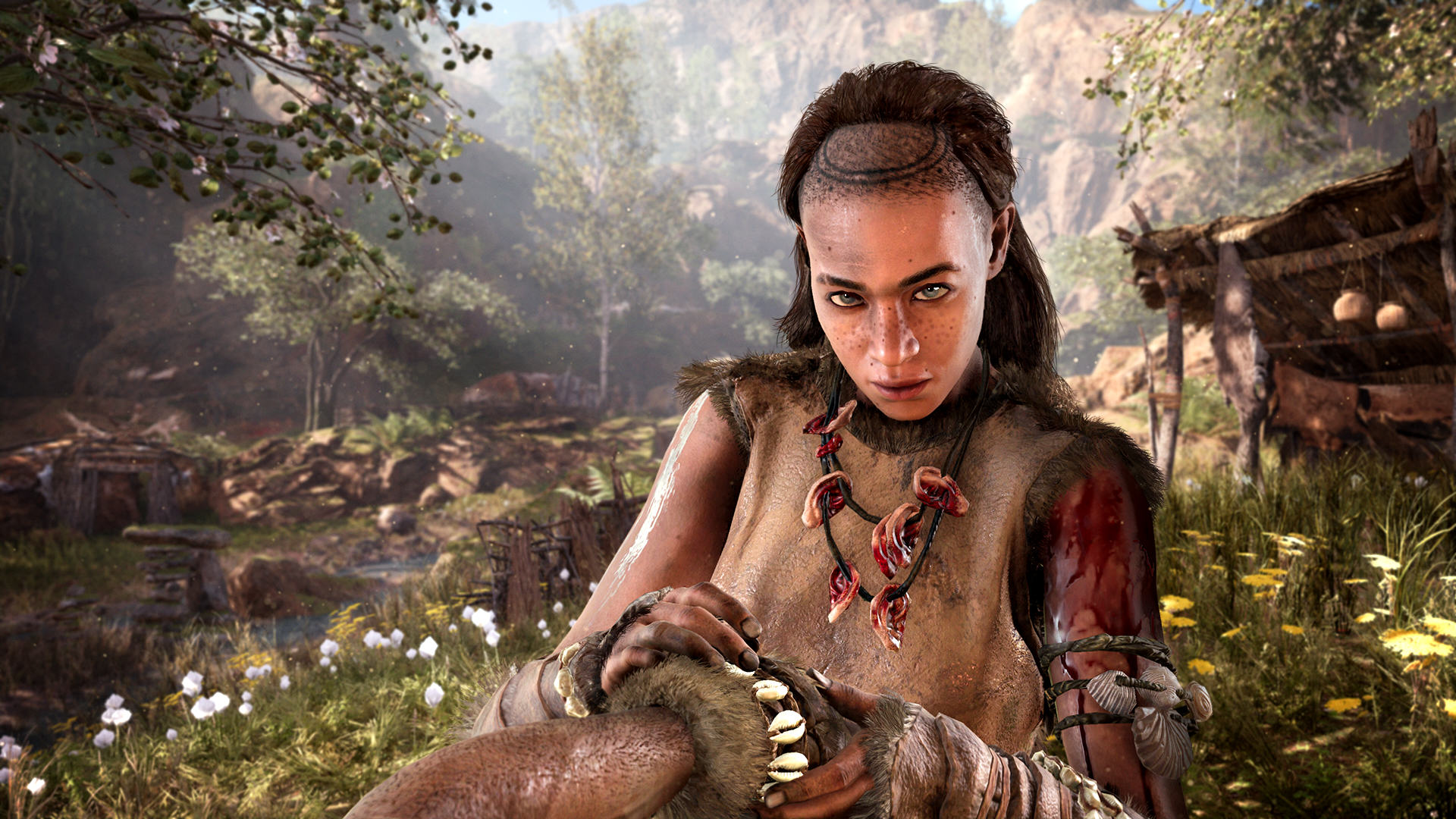 Far Cry Primal Is Shameless Pre Historic Fun, If A Little Shallow FCP 02 Gatherer Screenshots PREVIEW PR 160126 6pm CET 1453716678