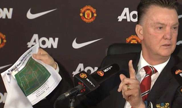 Five Reasons Louis van Gaals Manchester United Reign Hasnt Worked LVG Press Conference