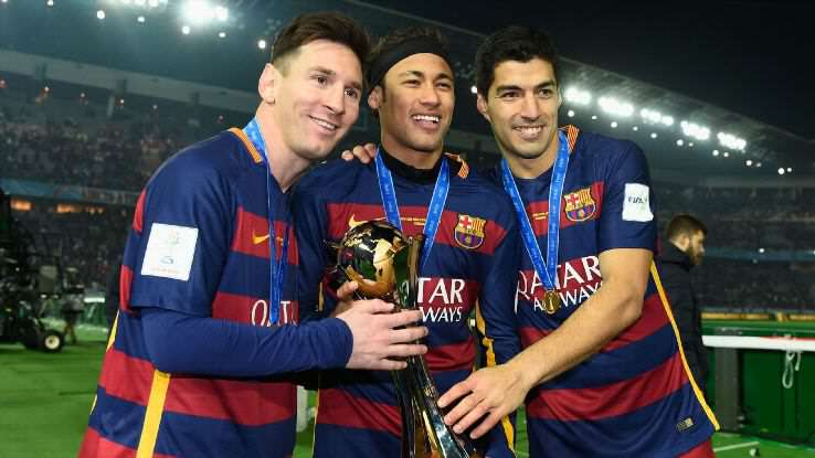 MSN 2 1 Five Barcelona Players Who Arsenal Must Keep Quiet