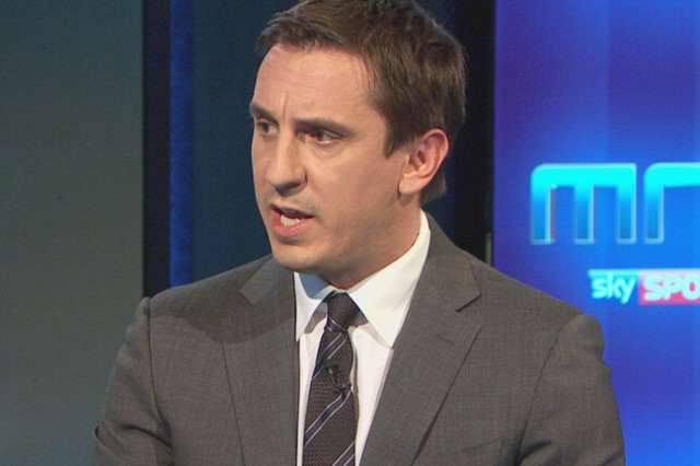 Neville 640x426 Sky Really Is The Limit For Gary Neville