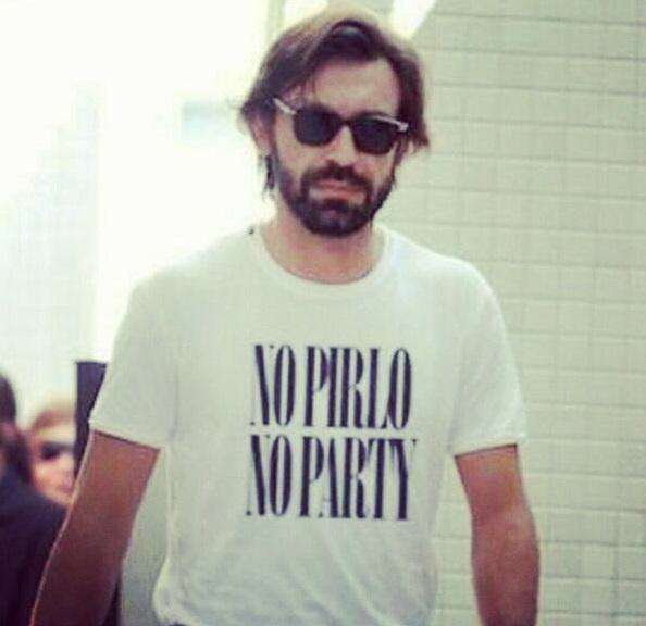 Pirlo shirt Five Of Footballs Most Loveable Guys