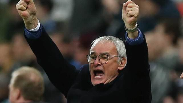Ranieri Celebration Five Reasons Leicester City CAN Win The Premier League