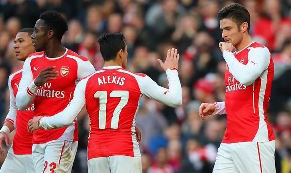 Sanchez Giroud Five Arsenal Players Who Can Give Them Hope Against Barcelona