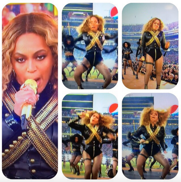 Screen Shot 2016 02 08 at 13.37.07 How Beyonces Face Stole The Superbowl Half Time Show, Again