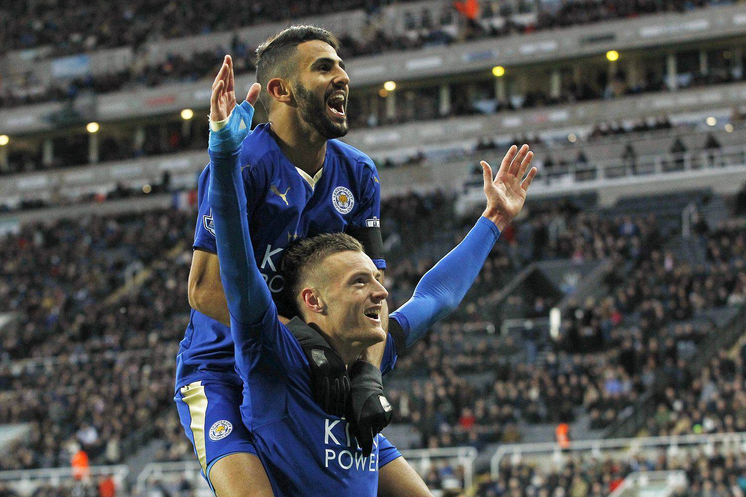 Vardy Celebration 1 Five Reasons Leicester City CAN Win The Premier League