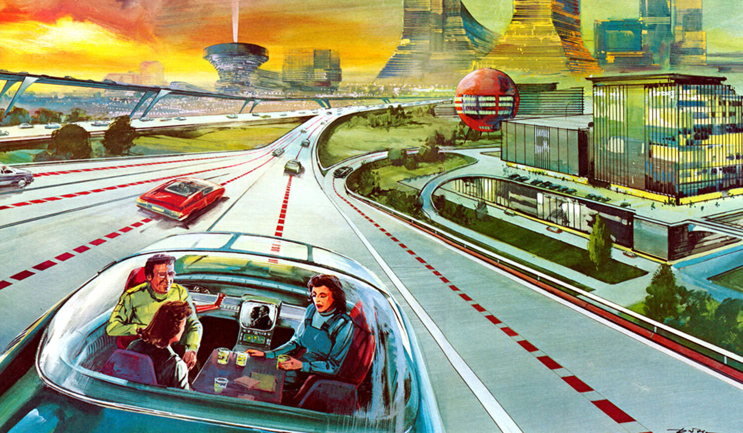 autopilot Well All Be Living Like Millionaires By 2050, Apparently