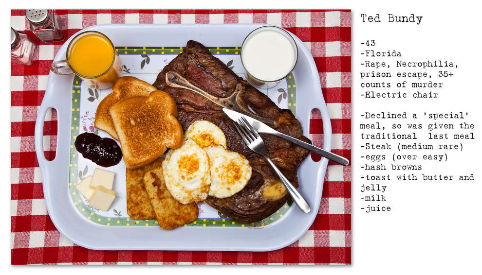 Photographer Recreates The Last Meals Of Infamous Death Row Prisoners enhanced buzz wide 18260 1392713770 19 1
