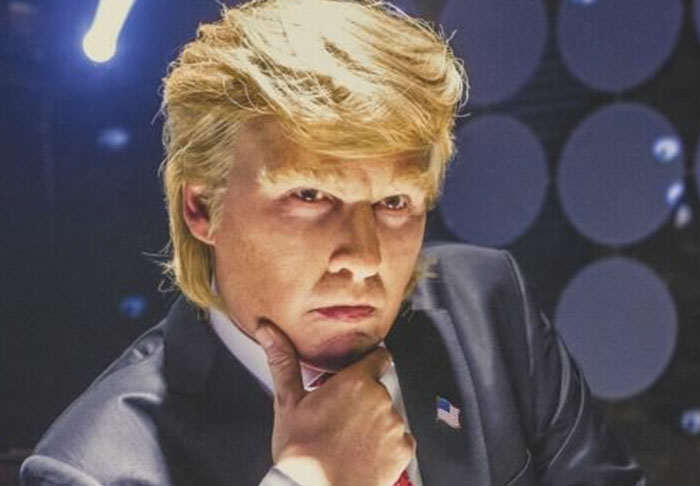 Johnny Depp Plays Donald Trump In Hilarious Parody Biopic