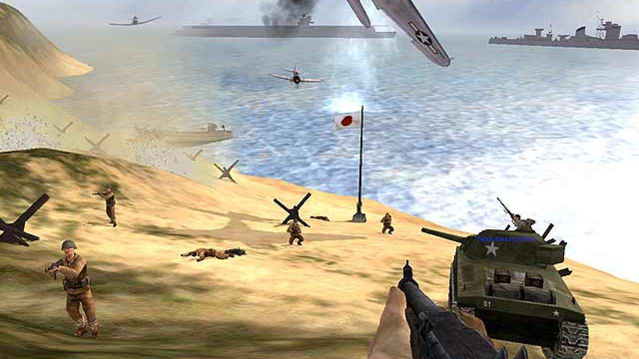 full screen 01 1 Five Of The Greatest World War 2 Videogames