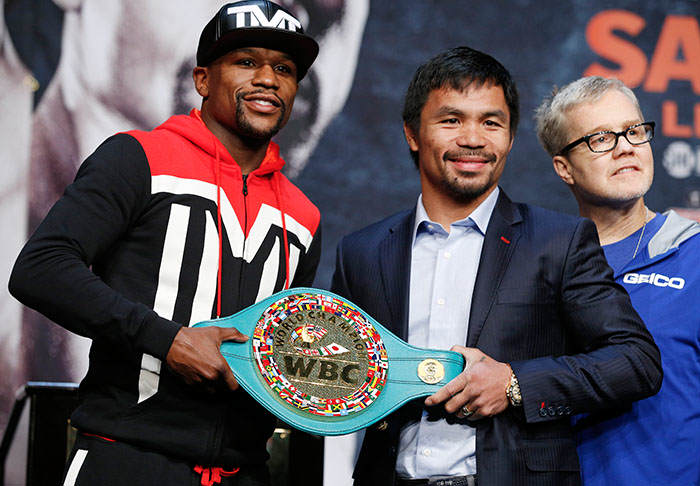 manny1 1 Waiter Suing Manny Pacquiao For $8.6m Over Mayweather Fight