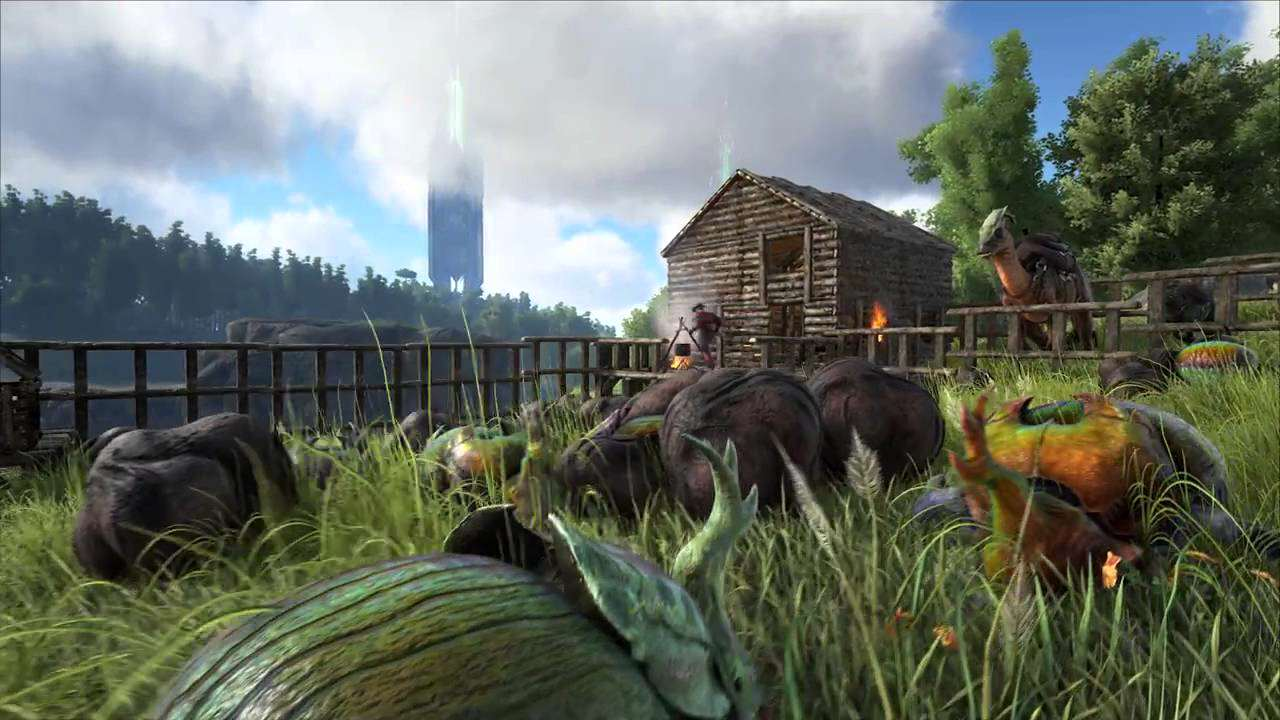 maxresdefault 25 ARK: Survival Evolved Update Brings New Dinos, Split Screen, And More